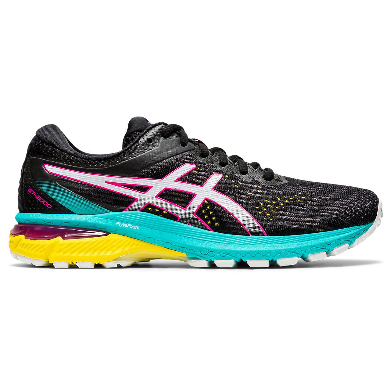 Asics - Women's GT-2000 8 Trail - Trail running shoes - BLACK/WHITE   5,5 (US)