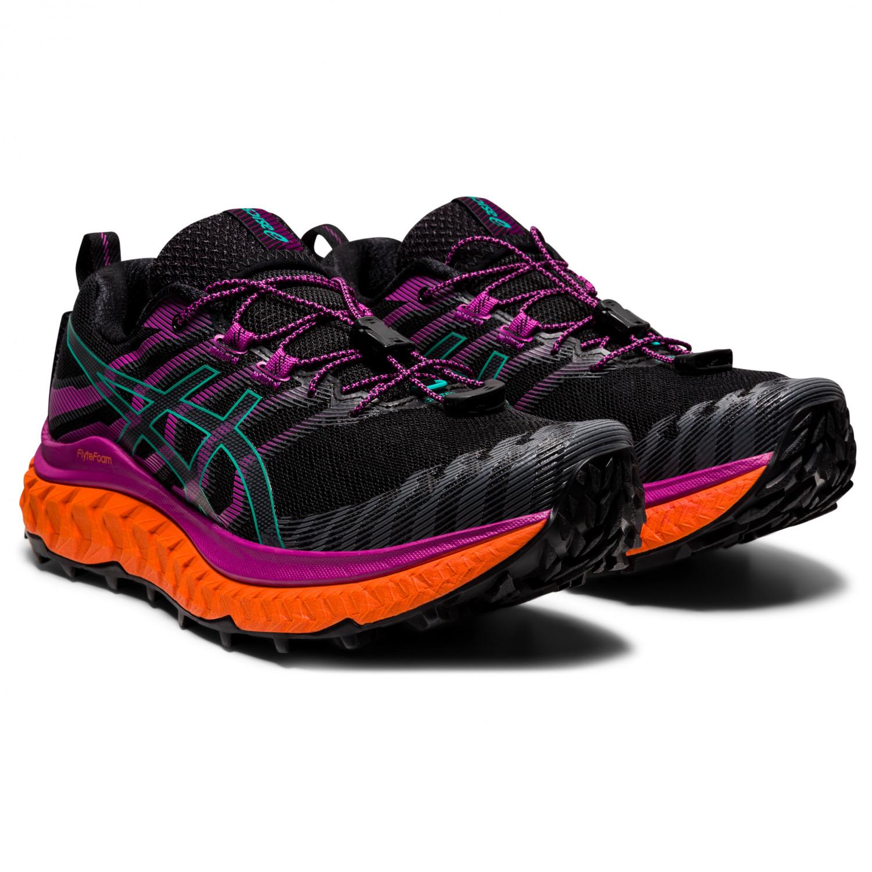 Asics - Women's Trabuco Max - Trail running shoes - Black / Digital Grape | 6 (US)