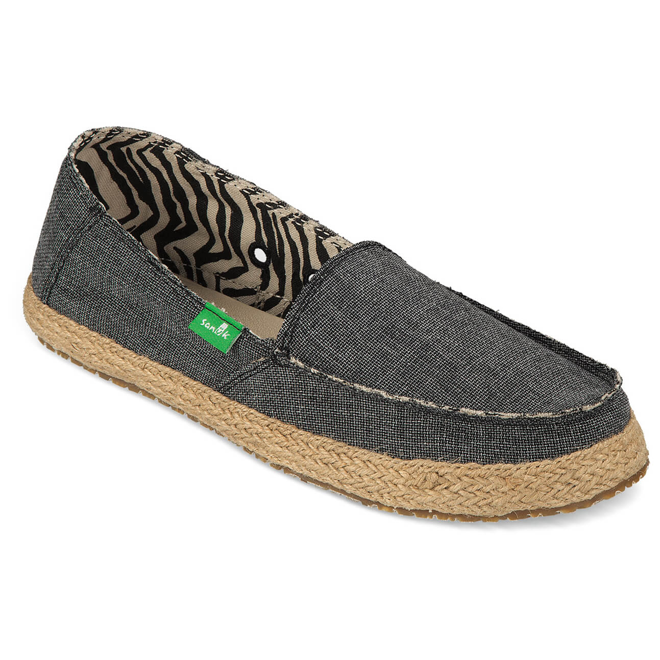 Sanuk - Women's Fiona - Sneaker Charcoal