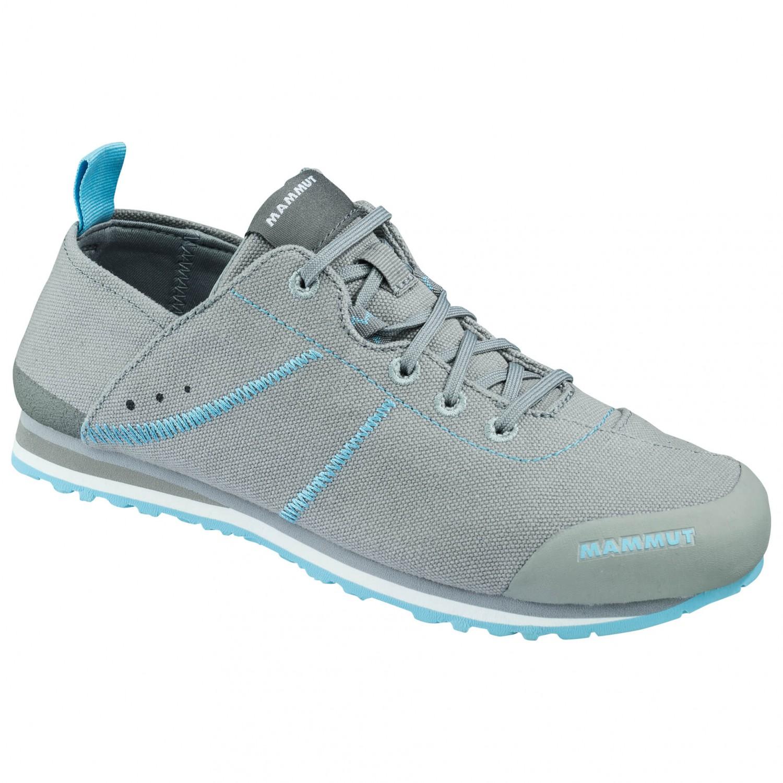 Mammut - Women's Sloper Low Canvas - Sneaker Neutral Grey / Whisper