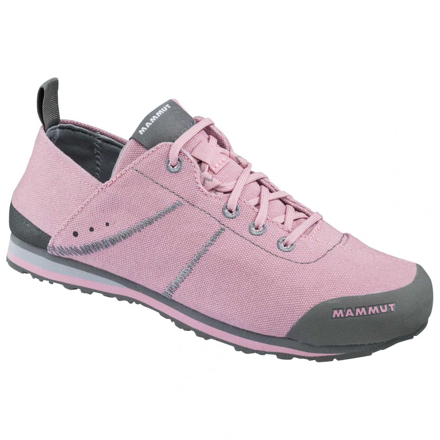 Mammut - Women's Sloper Low Canvas - Sneaker Rose / Ash