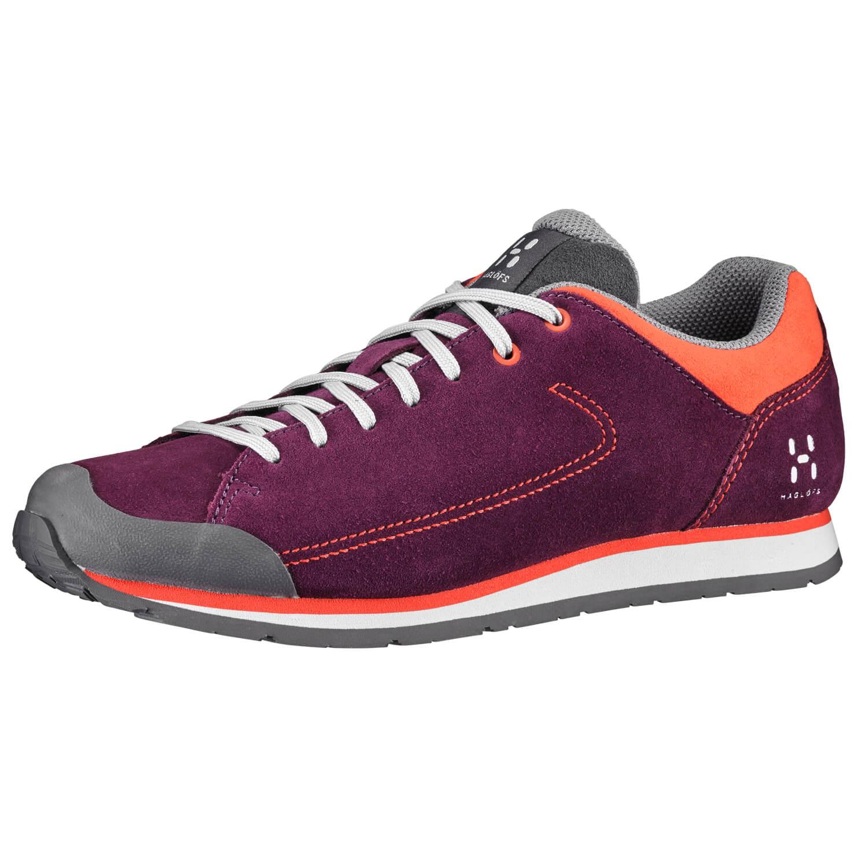 Haglöfs - Roc Lite Women - Sneaker Aubergine / Habanero