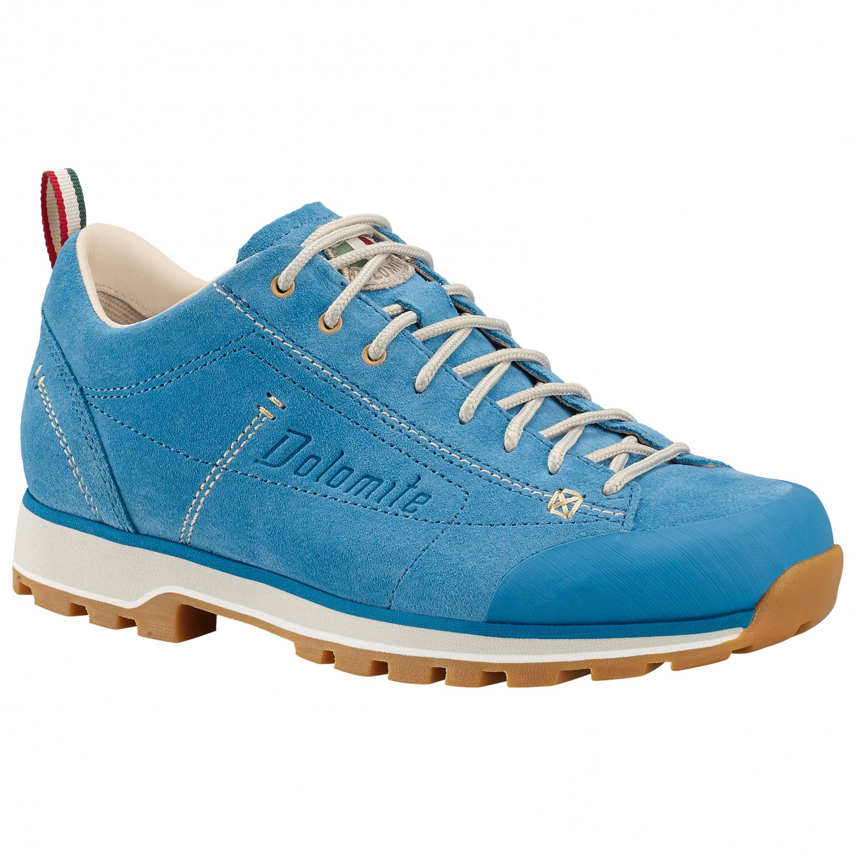 Dolomite - Women's Cinquantaquattro Low - Sneaker Turquoise / Canapa Beige