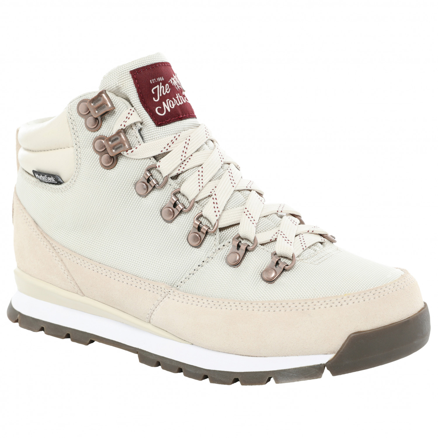 purchase cheap b395b cee30 The North Face - Women's Back-to-Berkeley Redux - Sneaker - Vintage White /  Deep Garnet Red | 060 (US)