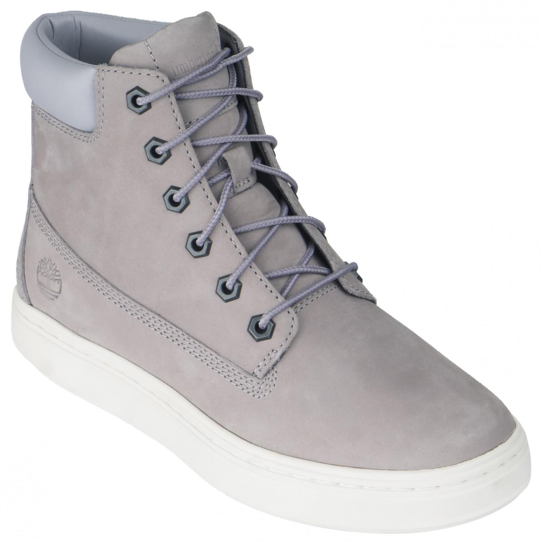 Timberland Women's Londyn 6 Inch Sneaker Gull Grey Nubuck | 6 (US)