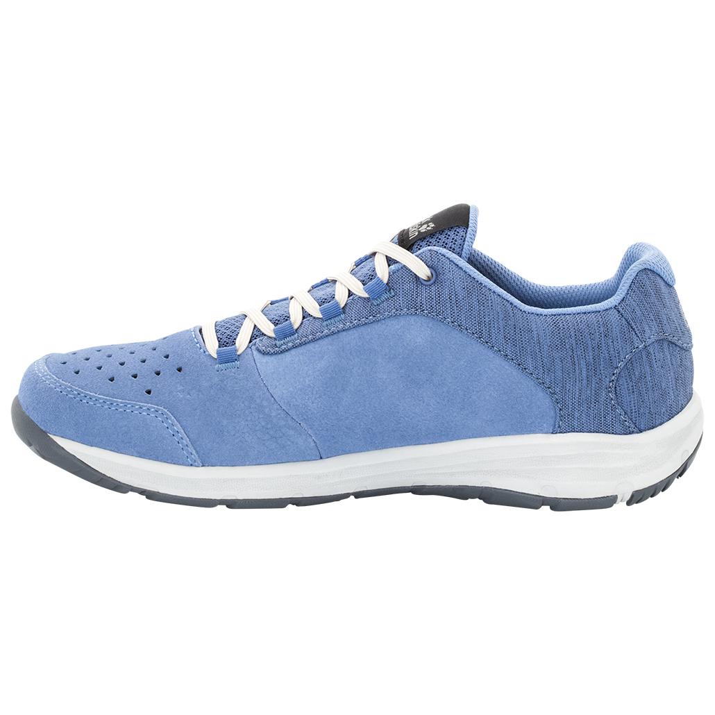 Jack Wolfskin - Women's Seven Wonders Low - Sneaker Gr 5,5 blau