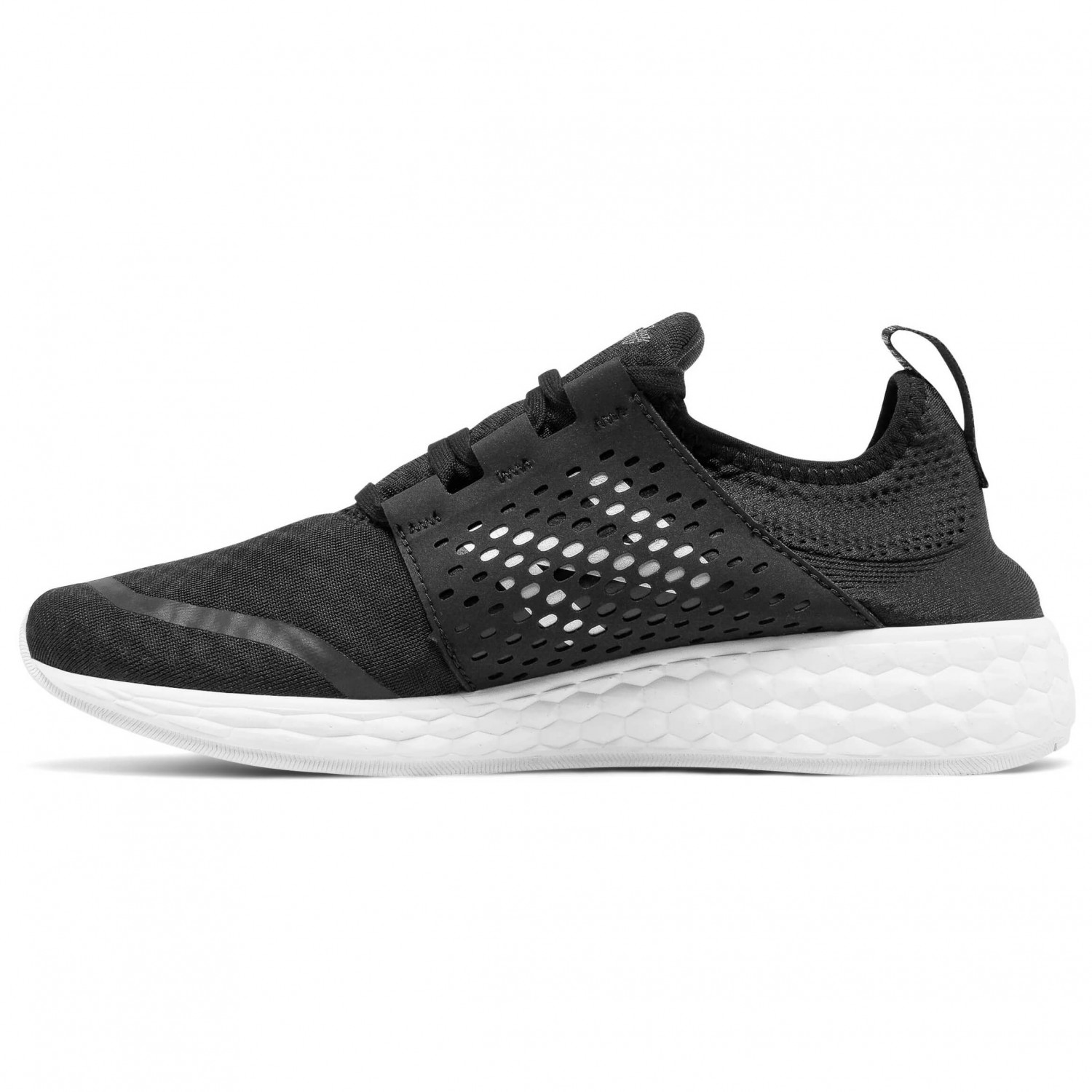 new balance damen schwarz fresh foam cruz