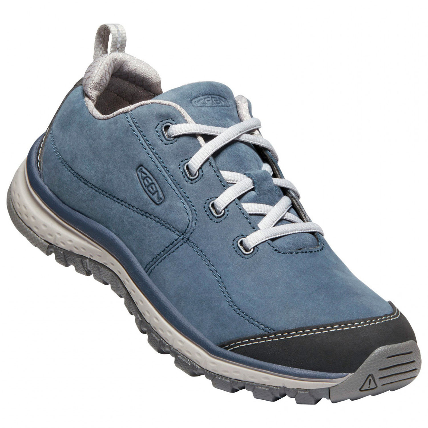 Keen Womens Terradora Leather Walking Shoes Blue Sports Outdoors Breathable