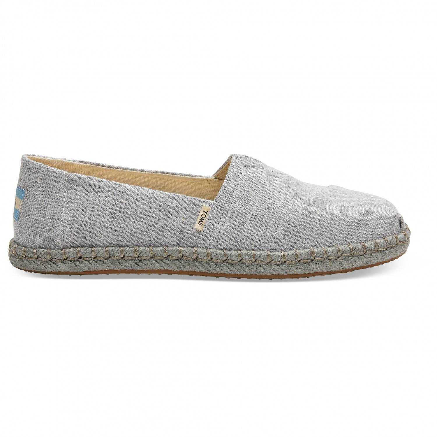 709cd030d TOMS Alpargata Rope Chambray Espadrille - Sneakers Women's | Buy ...