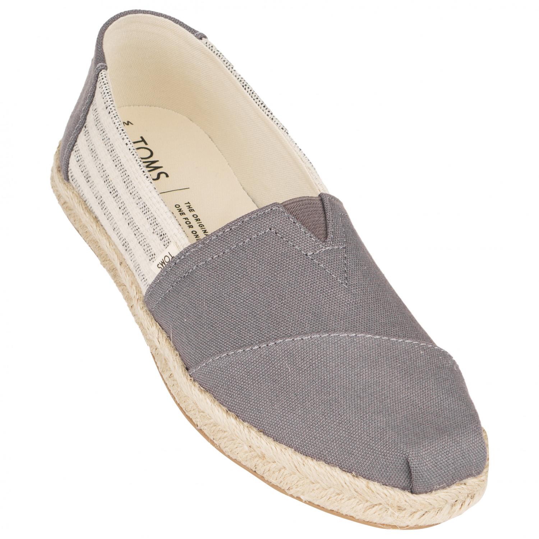 promo code 6ec80 bb8ad TOMS - Women's Alpargata University Classics Espadrille - Sneaker - Drizzle  Grey | 6 (US)