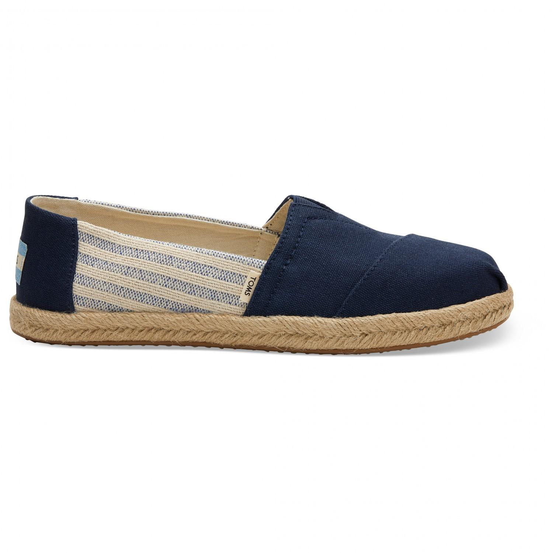 promo code d751a 3c213 TOMS - Women's Alpargata University Classics Espadrille - Sneaker - Drizzle  Grey | 6 (US)
