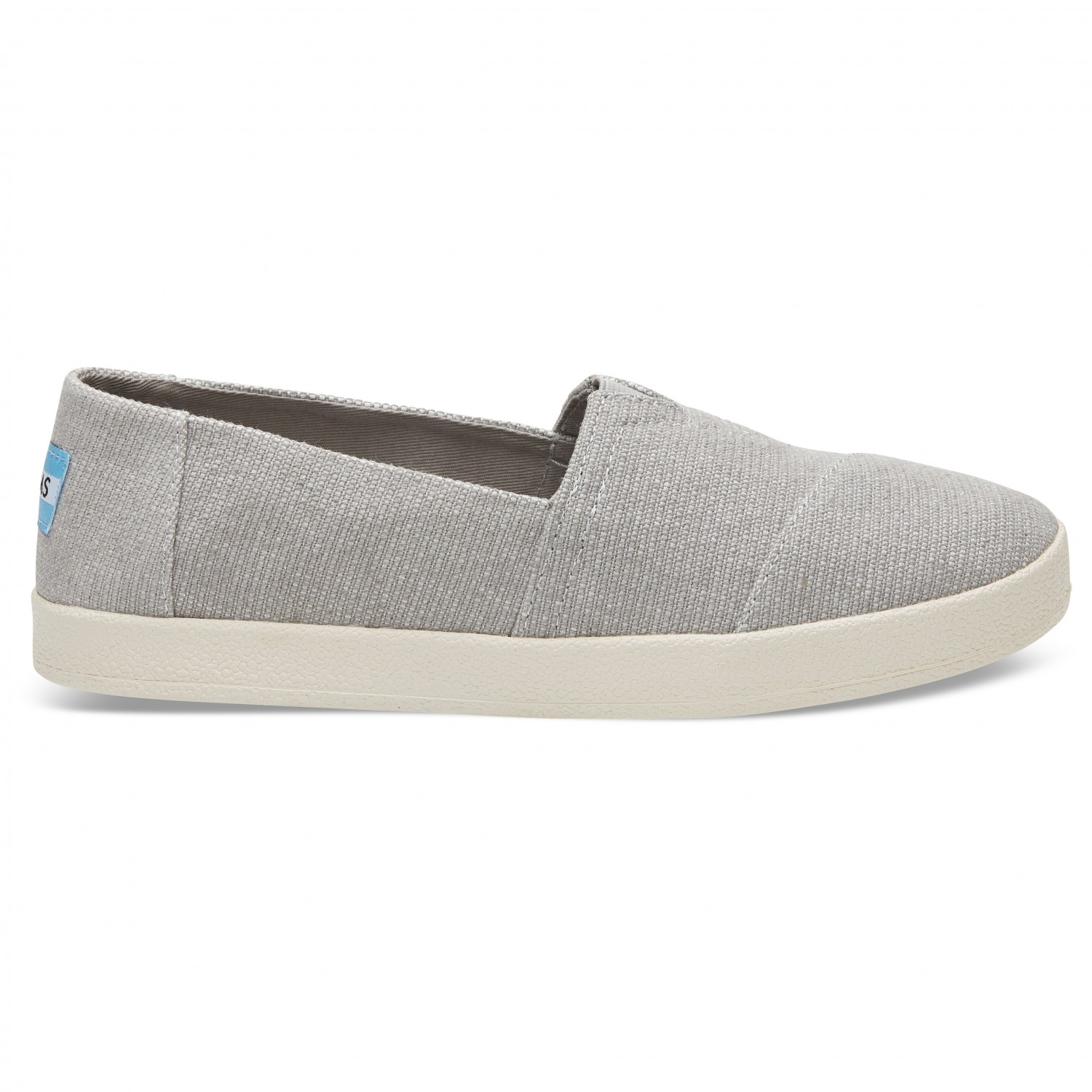 sale retailer 2bb53 b6fac TOMS - Women's Avalon Slip-On - Sneaker - Black Coated Canvas | 6 (US)