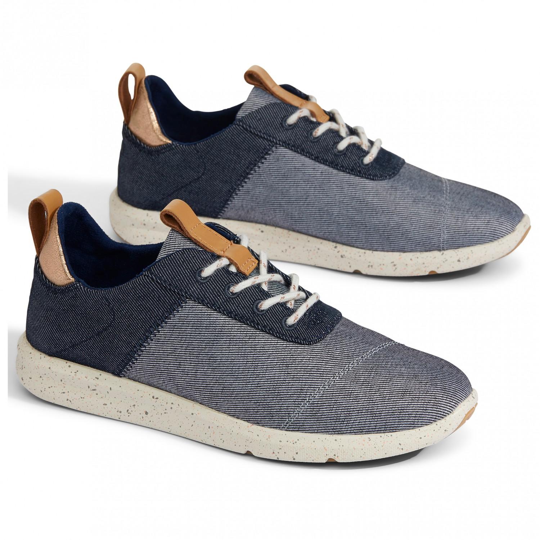 TOMS Women's Cabrillo Sneaker Drizzle Grey Chambray | 6 (US)