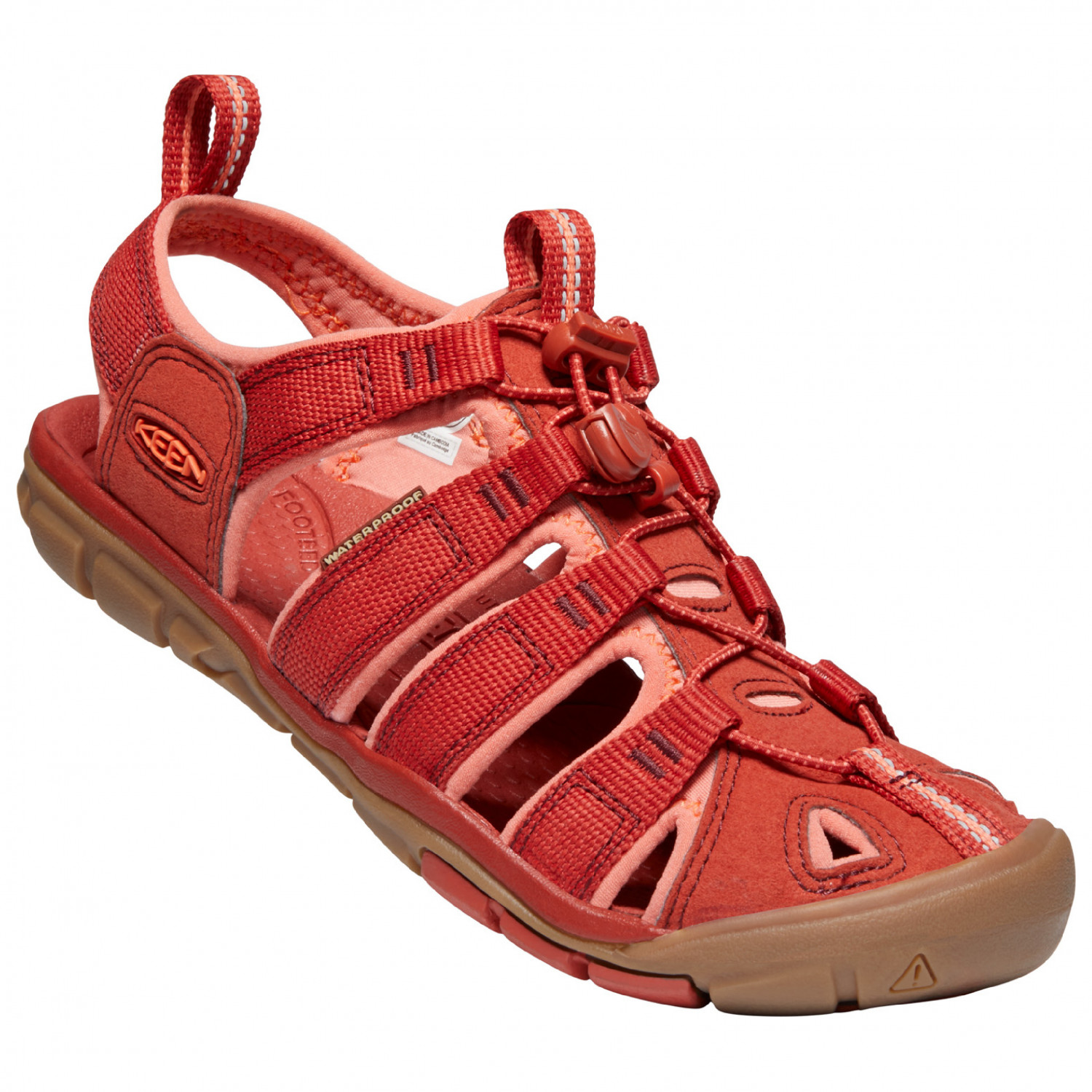 Keen Womens Clearwater Cnx Closed Toe Sandals