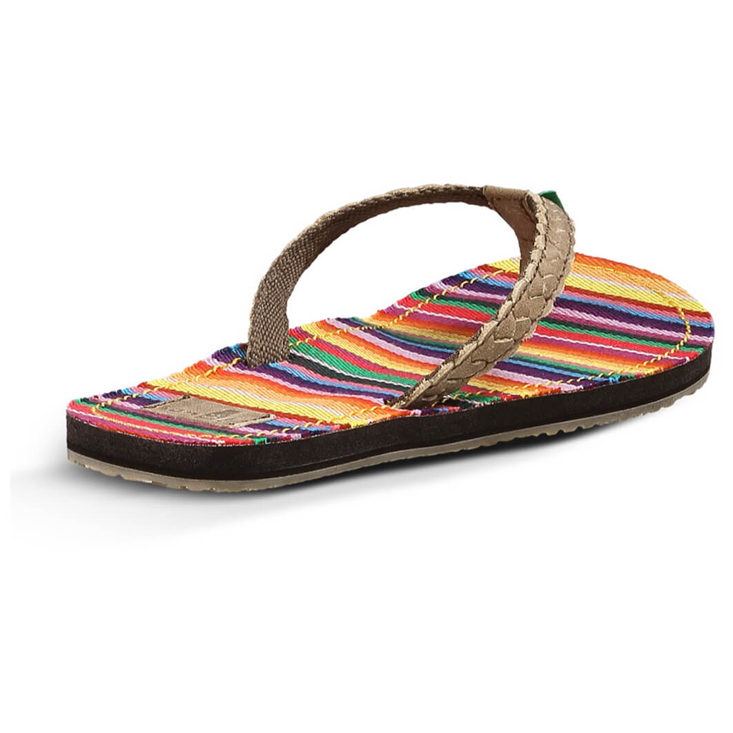 Sanuk sandals have been manufactured by Jeff Keller since with happiness & balance in mind. Buy online your pair of funky Sanuk sandals. JavaScript seems to be disabled in your browser.
