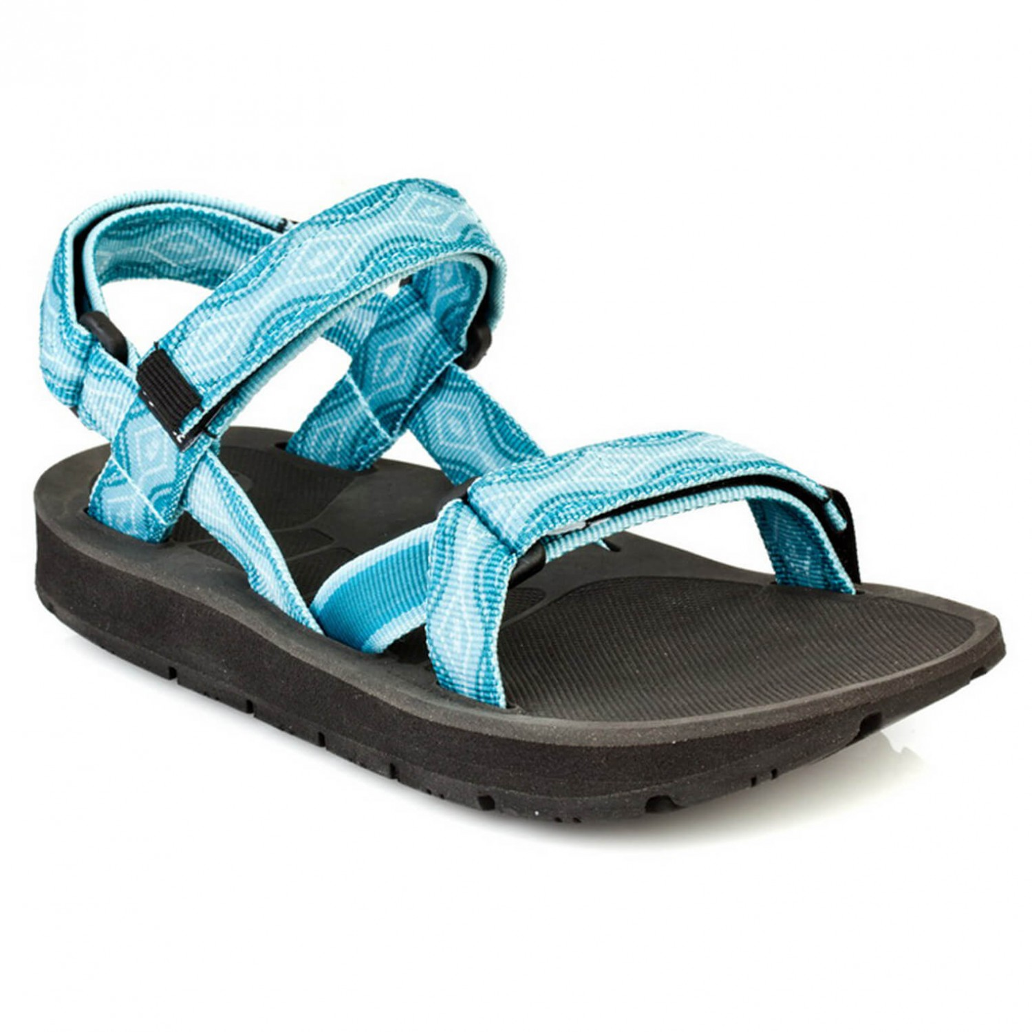 Source - Women's Stream - Sandales taille 42, noir/turquoise