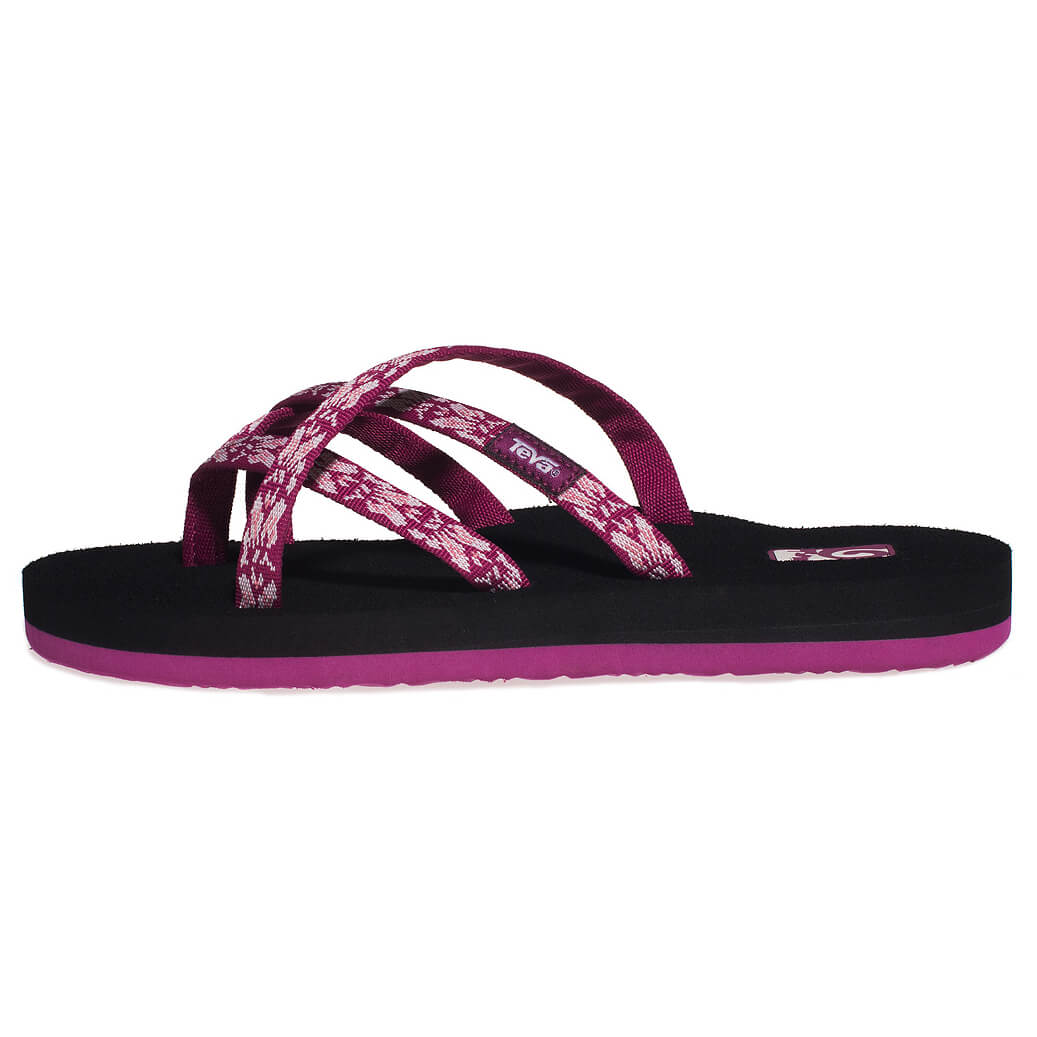 Teva Olowahu Leather Sandals Women S Free Uk Delivery