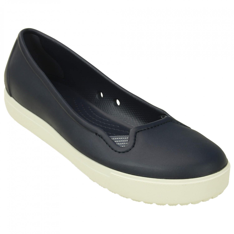 Crocs - Women's CitiLane Flat - Outdoorsandalen Gr W6 rot ZCR8HG