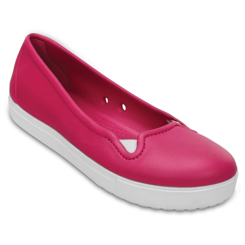 Crocs - Women's CitiLane Flat - Outdoorsandalen Gr W6 schwarz iSLT54Yt7r