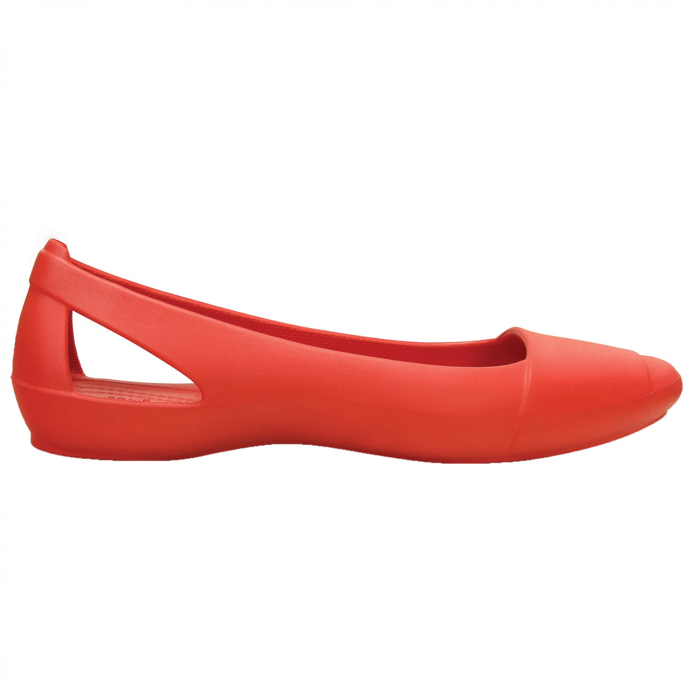 Crocs - Women's Sienna Flat - Outdoorsandalen Gr W6 schwarz 7Sj07xBia