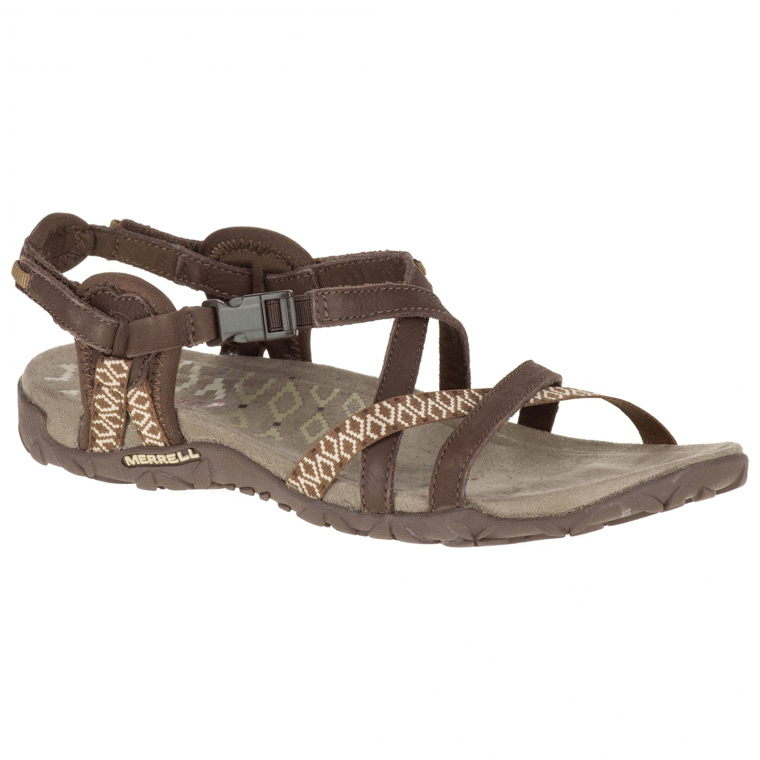 Merrell - Women's Terran Lattice II - Sandalen Dark Earth