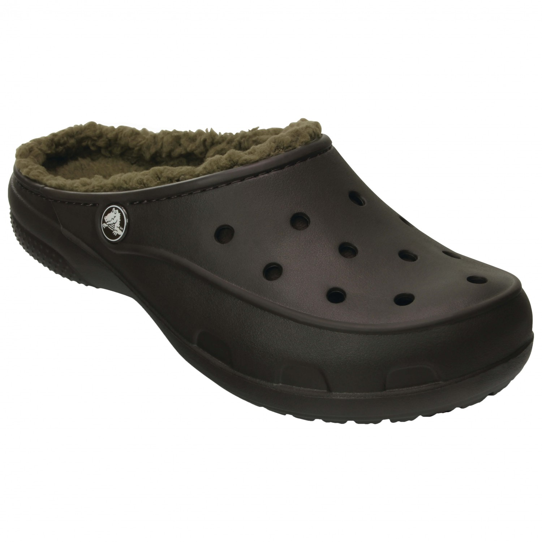 Crocs - Women's Crocs Freesail PlushLined Clog Espresso