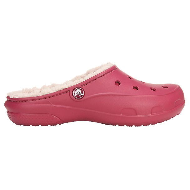 Crocs - Women's Crocs Freesail PlushLined Clog Pomegranate / Rose Dust