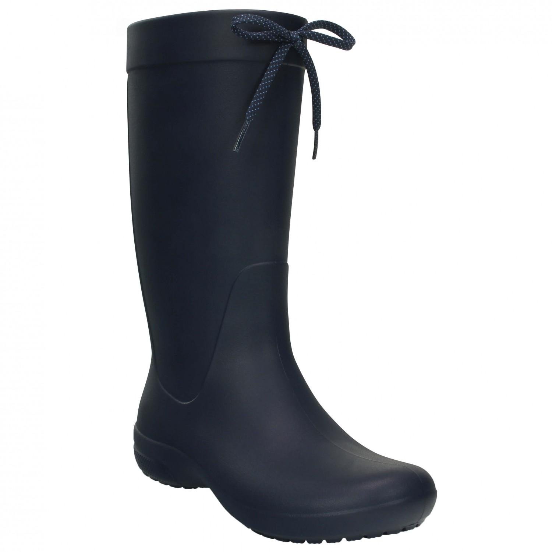 super popular 8b845 e0c93 Crocs - Women's Crocs Freesail Rain Boot - Gummistiefel - Navy | W10 (US)