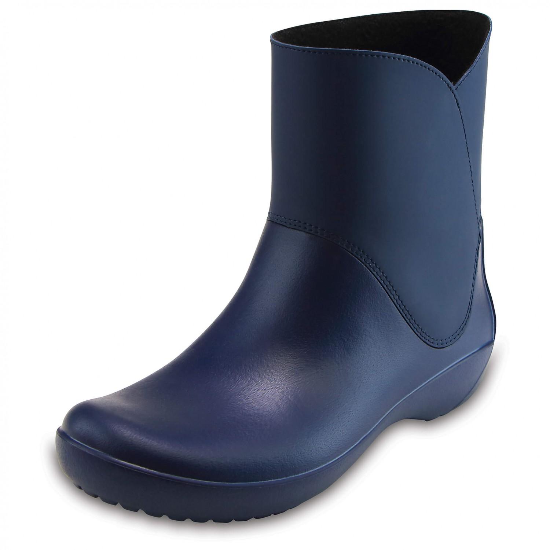 comprare reale lucentezza adorabile repliche Crocs - Women's RainFloe Bootie - Stivali di gomma - Black | W5 (US)