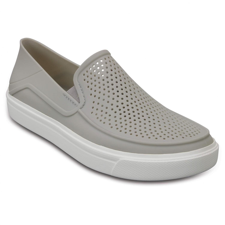 Crocs - Women's Citilane Roka Slip-On - Outdoorsandalen Pearl White