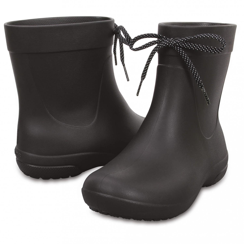 Crocs - Women's Crocs Freesail Shorty Rainboot Black