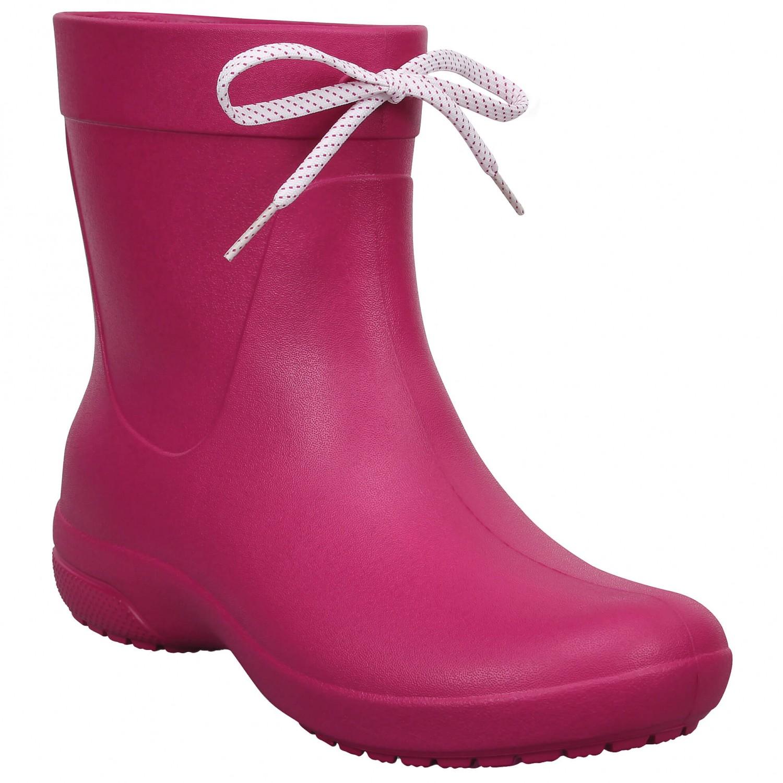 Crocs - Women's Crocs Freesail Shorty Rainboot Gr W6 gelb BhoPr2K