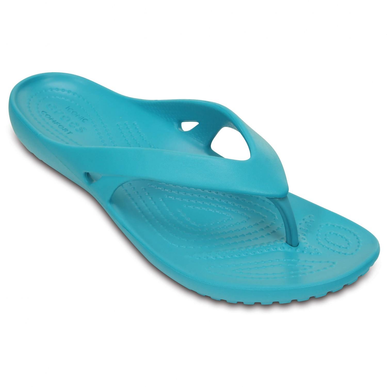 Crocs - Women's Kadee II Flip - Sandalen Turquoise
