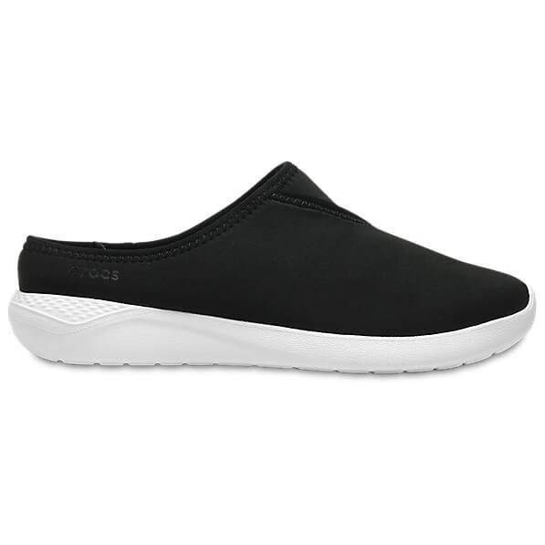 Crocs - Women's LiteRide Mule - Sandalen Black / White