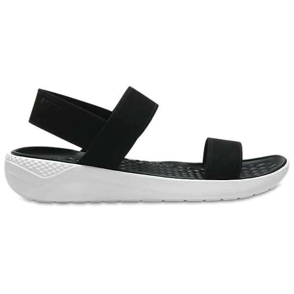 Crocs - Women's LiteRide Sandal - Sandalen Black / White