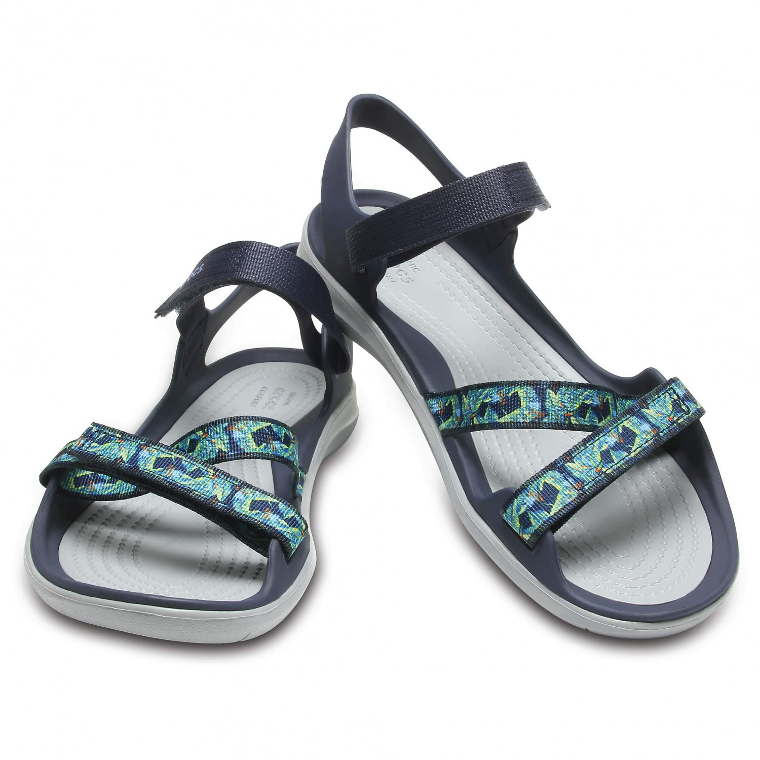 e4ecd9b36f5b2 Crocs - Women's Swiftwater Webbing Sandal - Sandals - Pool / White | W5 (US)