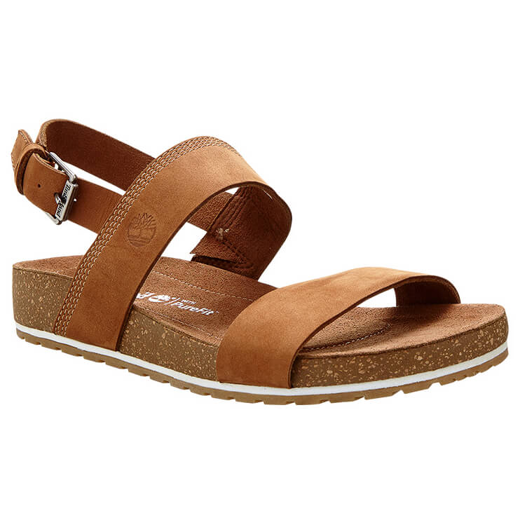 Timberland Women's Malibu Waves 2 Bands Sandal Sandalen Saddle | 8,5 (US)