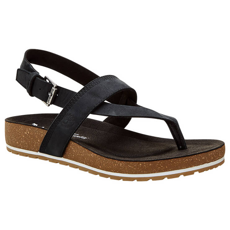 Timberland Women's Malibu Waves Thong Sandals Rose Gold | 6 (US)
