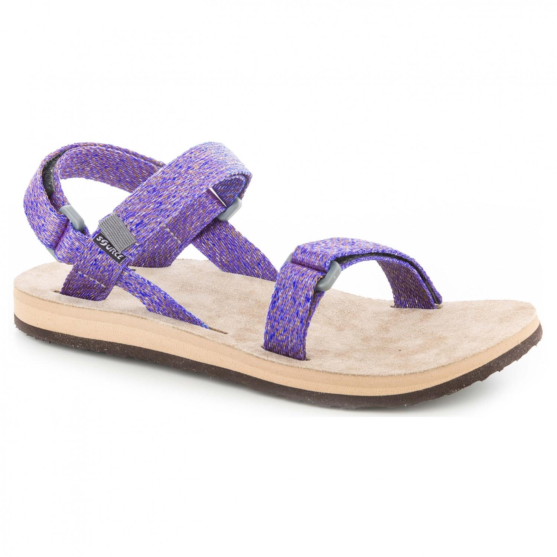 Source - Women's Leather Urban - Sandalen Purple Lilac
