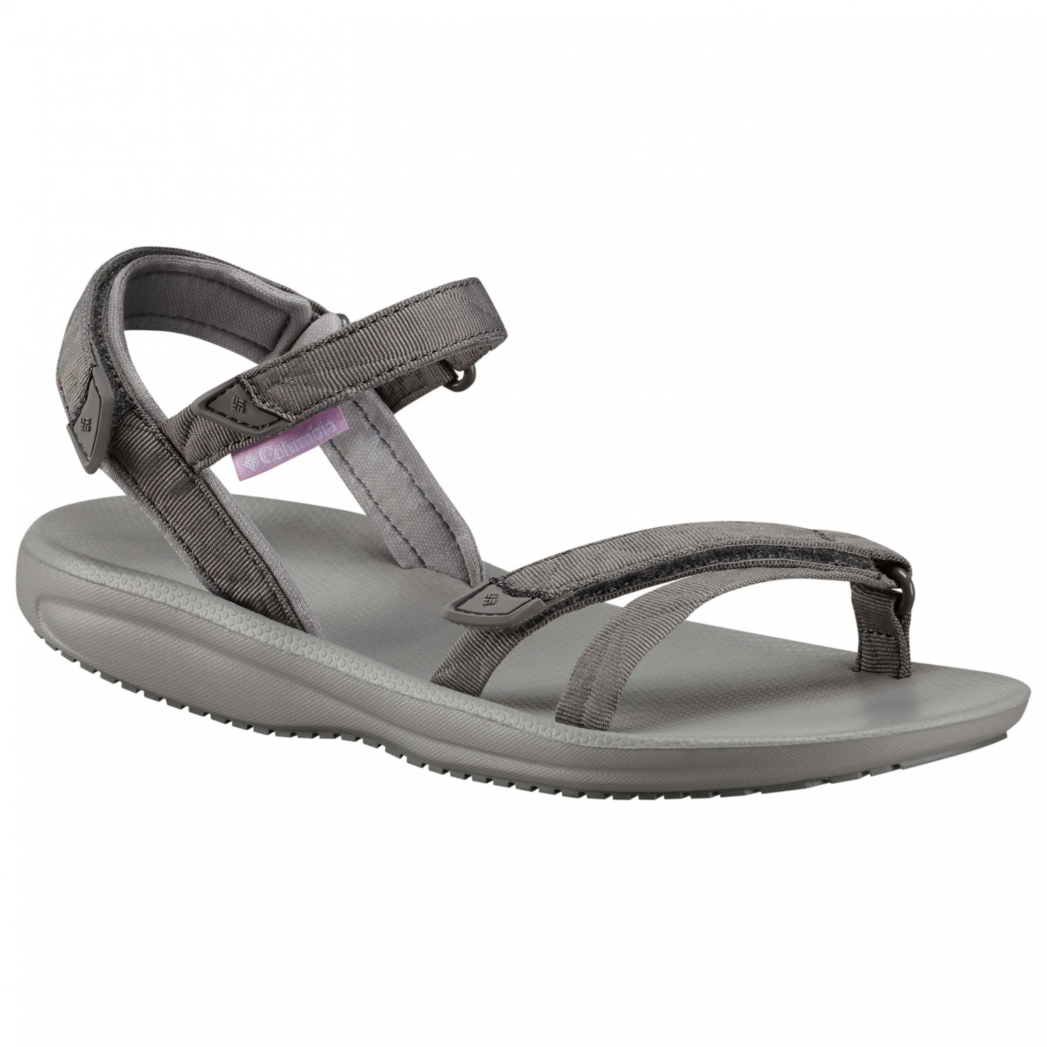 Columbia - Women's Big Water - Sandalen Titanium MHW / White