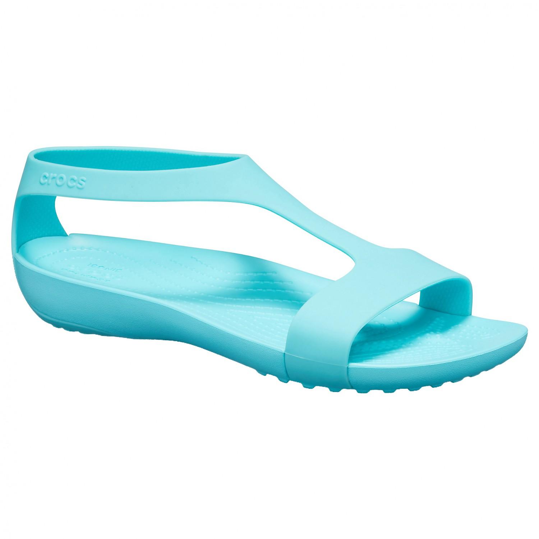 new product 4a168 bee67 Crocs - Women's Serena Sandal - Sandalen - Pool   W5 (US)