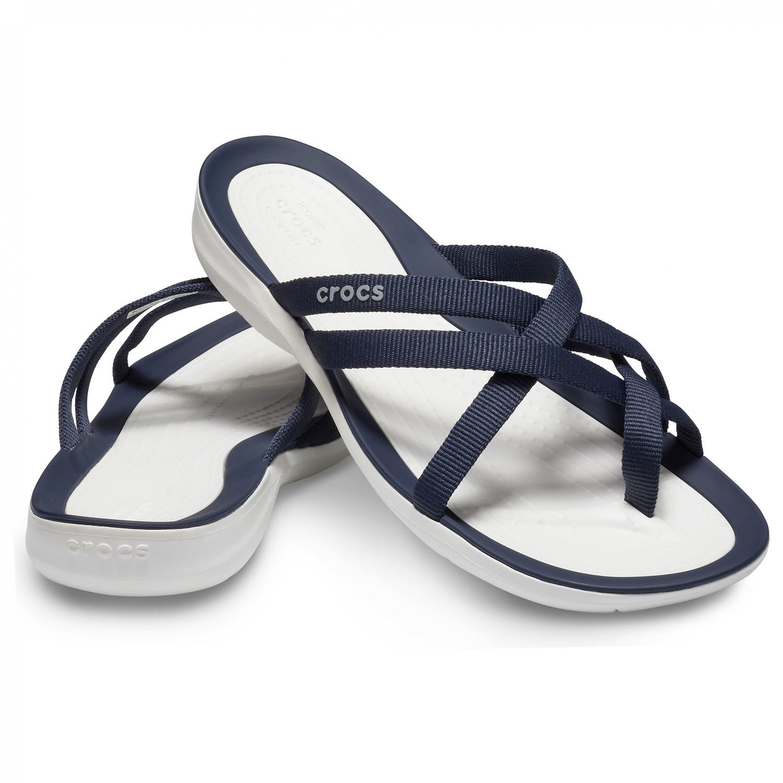 c5c1375570b3 ... Crocs - Women s Swiftwater Webbing Flip - Sandals ...