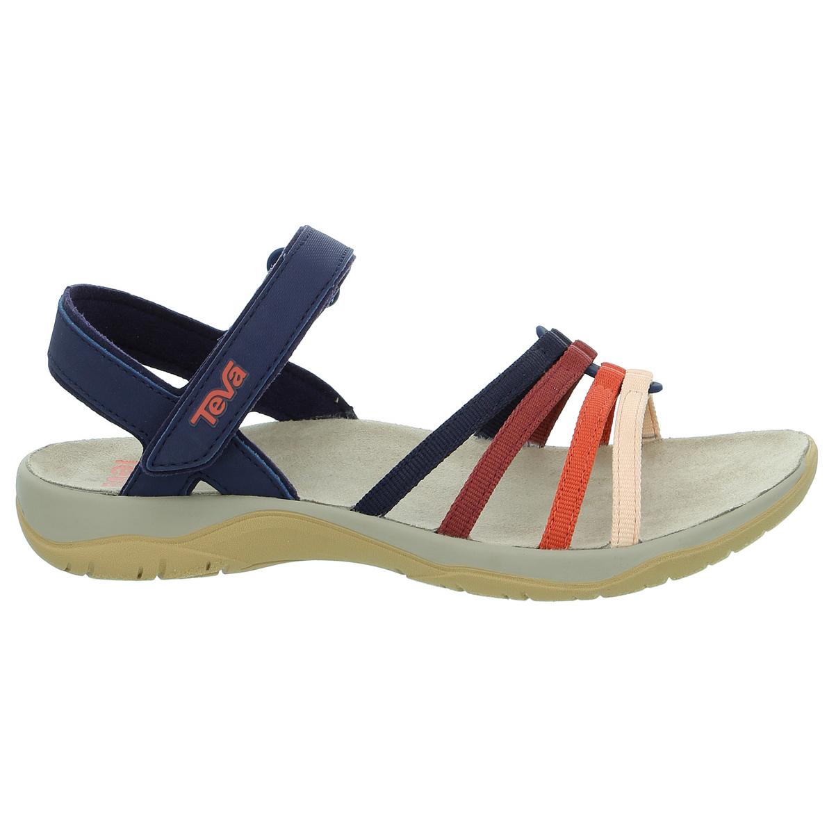 Eclipse//Multi Teva Elzada Web Supportive Walking Sandals