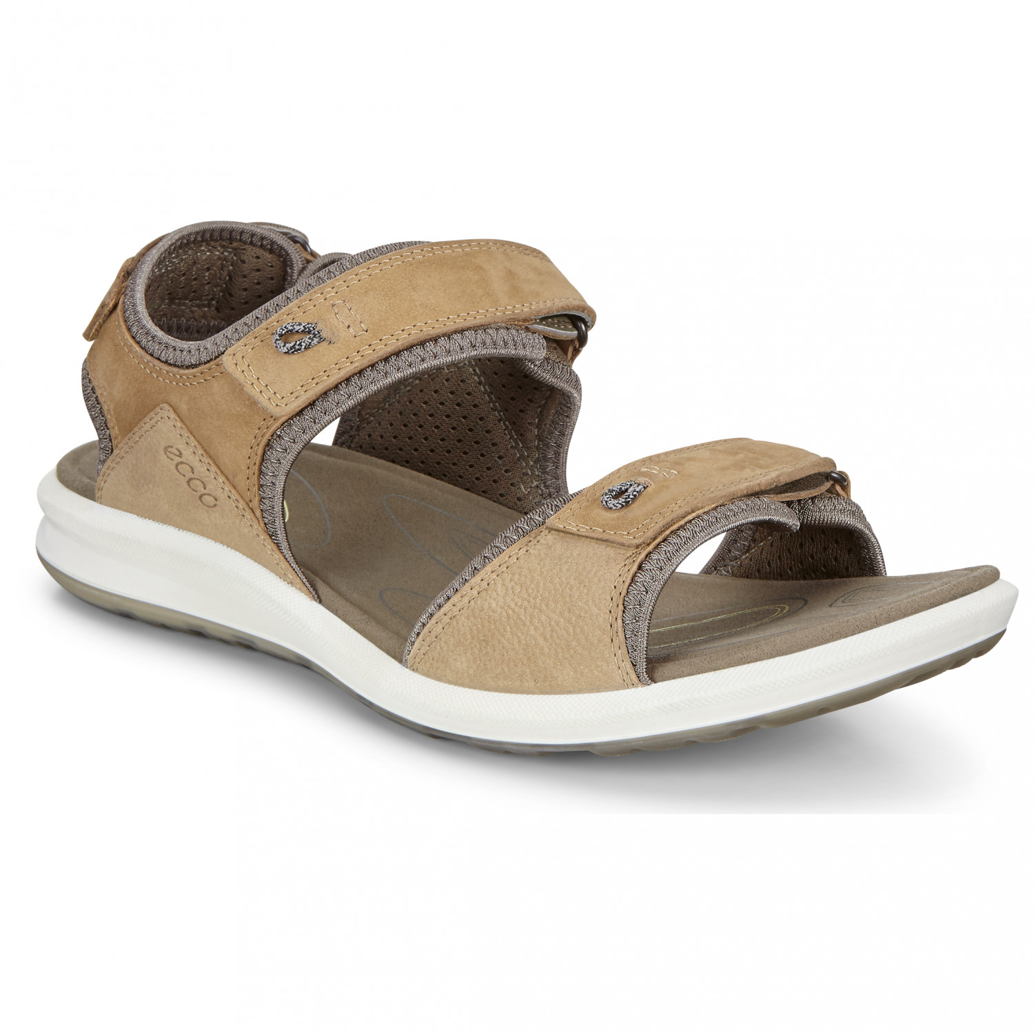 best service f9df2 fb421 Ecco - Women's Cruise II Half Open - Sandals - Navajo Brown / Black | 36  (EU)