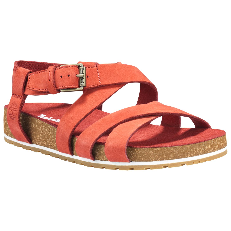 Timberland Women's Malibu Waves Ankle Strap Sandal Sandals Martini Olive   6 (US)