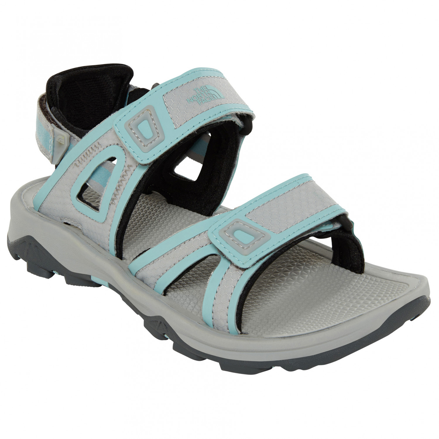 save off 3f44e 2491e The North Face - Women's Hedgehog Sandal II - Sandalen - High Rise Grey /  Canal Blue | 10 (US)
