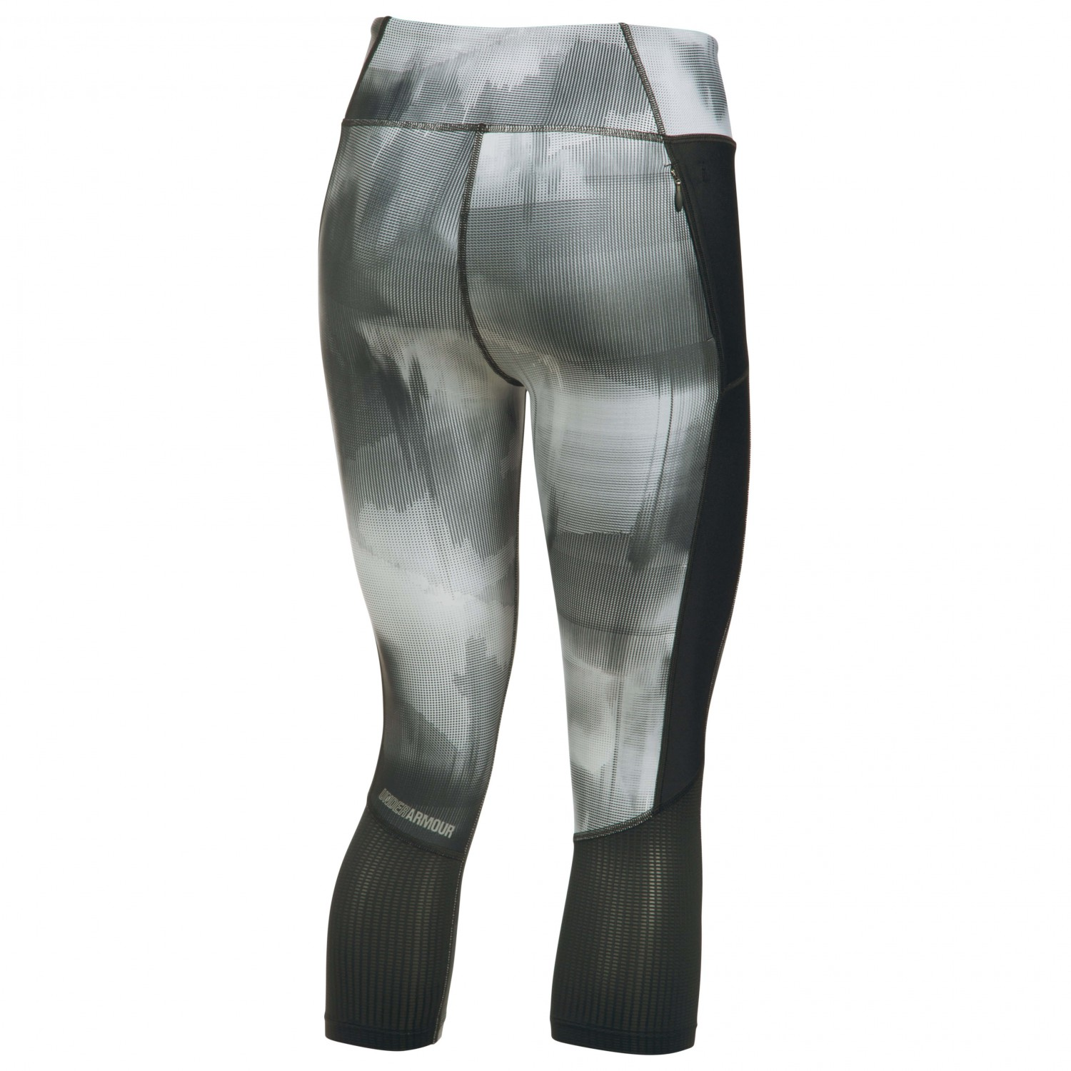 ea2da002671030 ... Under Armour - Women's Fly By Printed Capri - Running trousers ...