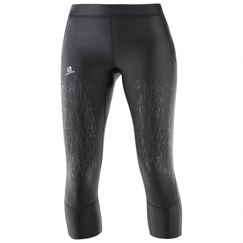 Salomon - Women s Intensity Mid Tight - Running pants 22b1fb4c4a