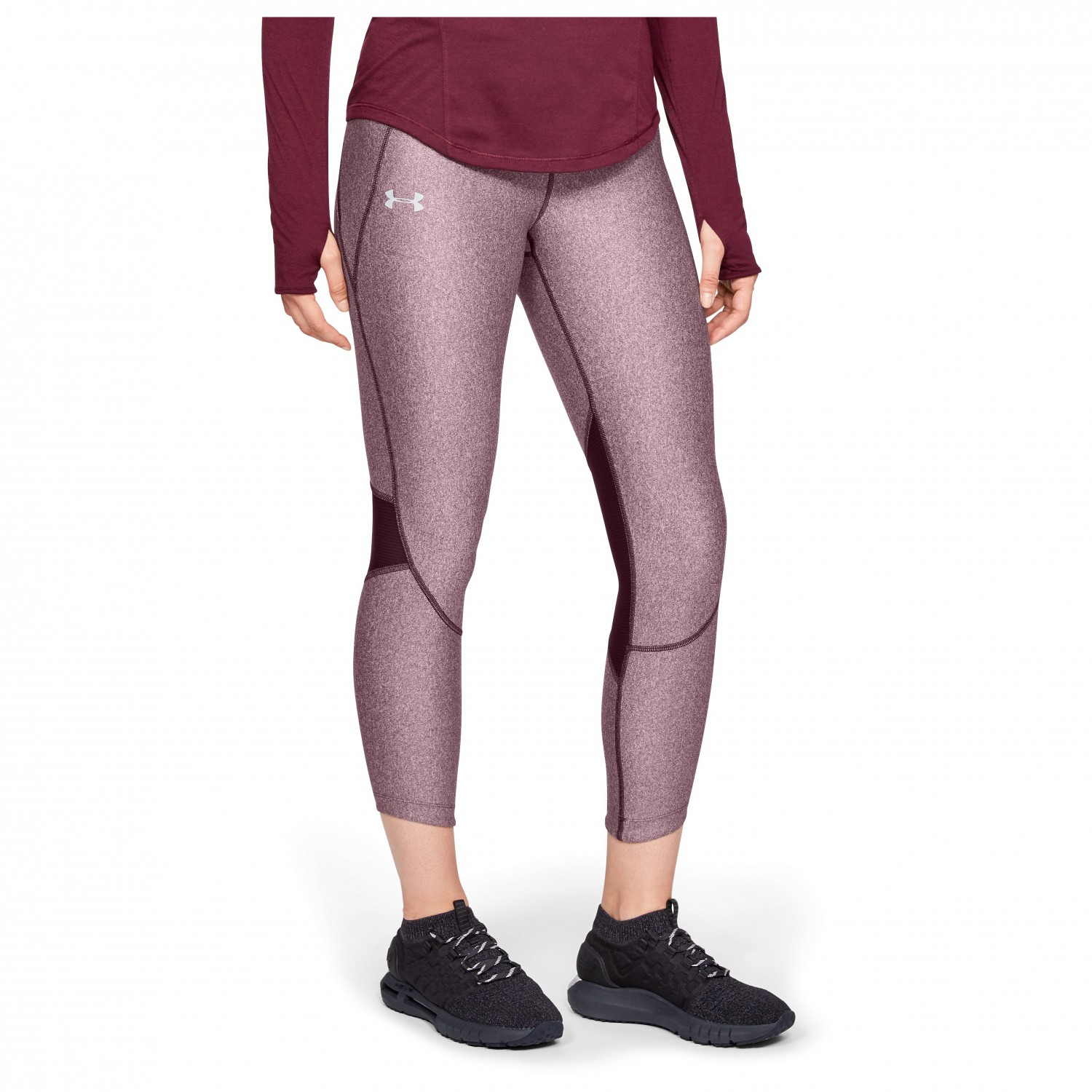 083a7c39d973f ... Under Armour - Women's Armour Fly Fast Crop - Running tights ...