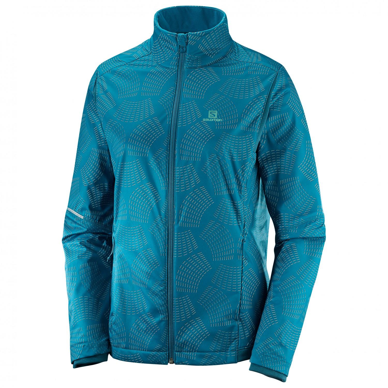 Salomon Agile Warm Jacket Laufjacke Damen online kaufen AeCoF